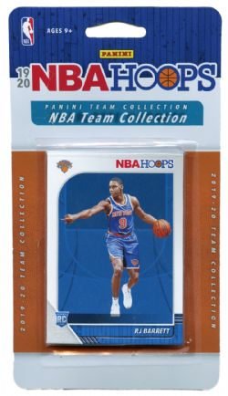 2019-20 BASKETBALL -  ENSEMBLE PANINI NBA HOOPS DES KNICKS DE NEW YORK (9 CARTES)