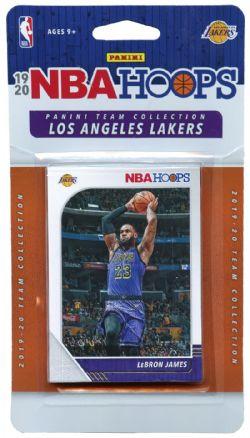 2019-20 BASKETBALL -  ENSEMBLE PANINI NBA HOOPS DES LAKERS DE LOS ANGELES (10 CARTES)