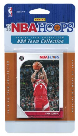 2019-20 BASKETBALL -  ENSEMBLE PANINI NBA HOOPS DES RAPTORS DE TORONTO (7 CARTES)