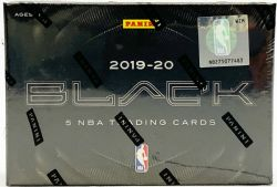 2019-20 BASKETBALL -  PANINI - BLACK - HOBBY BOX (B5)