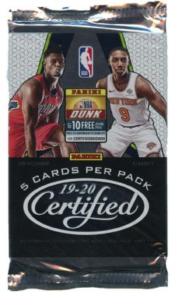 2019-20 BASKETBALL -  PANINI CERTIFIED (P5/B10)