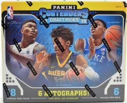 2019-20 BASKETBALL -  PANINI CONTENDERS DRAFT BASKETBALL HOBBY BOX