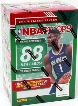 2019-20 BASKETBALL -  PANINI HOOPS HOLIDAY BASKETBALL 11-PACK BLASTER BOX