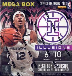 2019-20 BASKETBALL -  PANINI ILLUSIONS - MEGA BOX