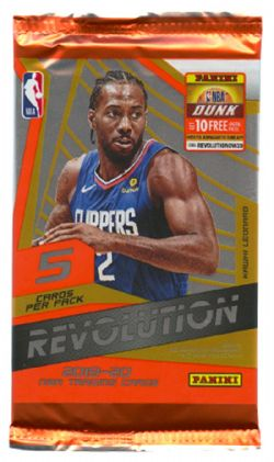 2019-20 BASKETBALL -  PANINI REVOLUTION (P5/B8)