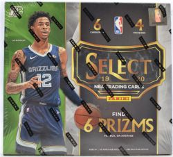 2019-20 BASKETBALL -  PANINI SELECT BASKETBALL HOBBY HYBRID BOX