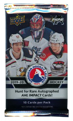 2019-20 HOCKEY -  UPPER DECK AHL HOBBY (P10/B12)