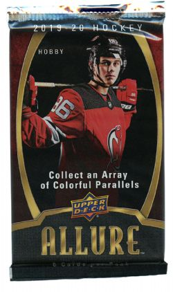 2019-20 HOCKEY -  UPPER DECK ALLURE HOBBY (P6/B8/C20)