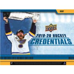 2019-20 HOCKEY -  UPPER DECK CREDENTIALS (P6/B8)