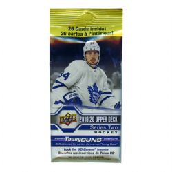 2019-20 HOCKEY -  UPPER DECK SERIES 2 FAT PACK (26)