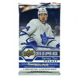 2019-20 HOCKEY -  UPPER DECK SERIES 2 RETAIL (P8/B24/C20)
