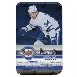 2019-20 HOCKEY -  UPPER DECK SERIES 2 TIN (P8/B12)