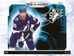 2019-20 HOCKEY -  UPPER DECK SPX (P1/B4)