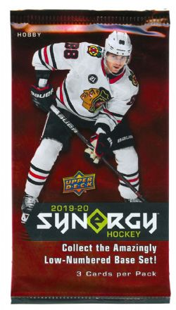 2019-20 HOCKEY -  UPPER DECK SYNERGY (P3/B8/C10)
