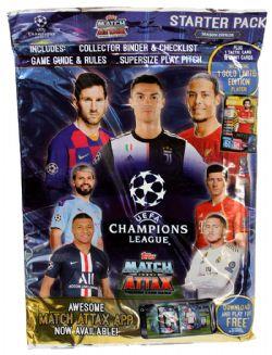 Topps Match Attax Ligue des Champions 2016//17 50 paquets de a 6 cartes non ouvert