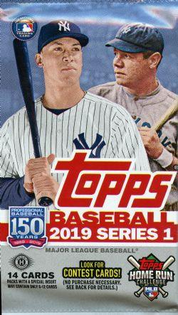 2019 BASEBALL -  TOPPS SERIES 1 (P14/B24)