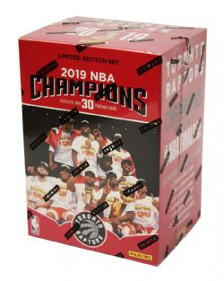 2019 BASKETBALL -  TORONTO RAPTORS NBA CHAMPIONS BOX SET (P30) PANINI ÉDITION LIMITÉE