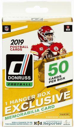 2019 FOOTBALL -  DONRUSS - HANGER BOX (B36) -  PANINI