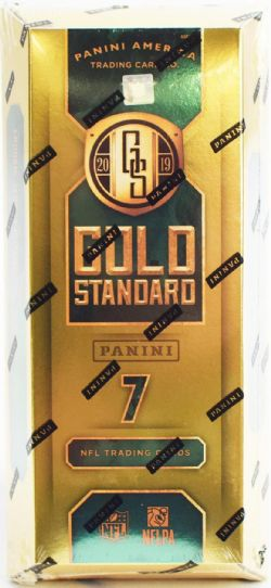 2019 FOOTBALL -  PANINI GOLD STANDARD - HOBBY BOX