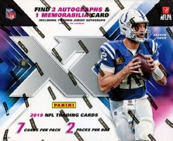 2019 FOOTBALL -  PANINI XR - HOBBY BOX (B7/P2)