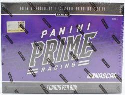 2019 NASCAR -  PANINI PRIME - HOBBY BOX