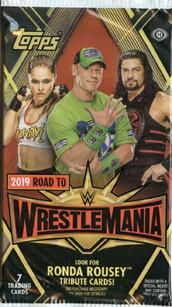 2019 WWE -  TOPPS ROAD TO WRESTLEMANIA (P7/B24)