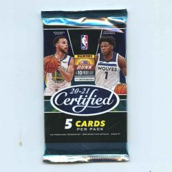 2020-21 BASKETBALL -  PANINI CERTIFIED (P5/B10)