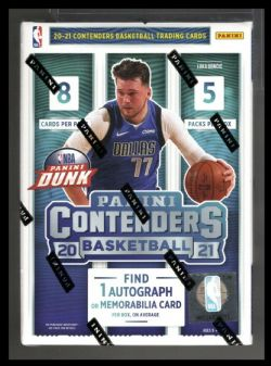 2020-21 BASKETBALL -  PANINI CONTENDERS - 5-PACK BLASTER BOX
