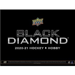 2020-21 HOCKEY -  UPPER DECK BLACK DIAMOND - HOBBY BOX