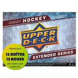 2020-21 HOCKEY -  UPPER DECK EXTENDED SERIES HOBBY BOX