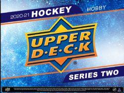 2020-21 HOCKEY -  UPPER DECK SERIES 2 HOBBY  (P8/B24/C12) **LIMITE 288 PAQUETS / 12 BOÎTES PAR CLIENT / PAR ADRESSE**
