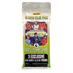 2020-21 SOCCER -  PANINI PRIZM PREMIER LEAGUE VALUE - FAT PACK (RED WHITE & BLUE PRIZMS!)