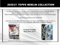 2020-21 SOCCER -  TOPPS CHROME UEFA CHAMPIONS LEAGUE MERLIN (P4/B18)