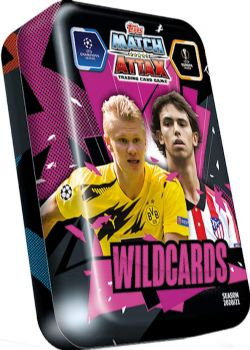 2020-21 -  TOPPS MATCH ATTAX - WILDCARDS ICONS - MEGA-TIN -  SOCCER
