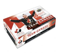 2020-21 -  UPPER DECK TEAM CANADA JUNIORS HOBBY (P5/B15/C16) -  HOCKEY