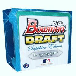 2020 BASEBALL -  BOWMAN DRAFT - SAPPHIRE EDITION BOX