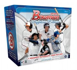 2020 BASEBALL -  BOWMAN SAPPHIRE - HOBBY BOX