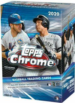 2020 BASEBALL -  CHROME BLASTER BOX (P4/B7+1) -  TOPPS