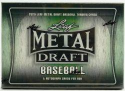 2020 BASEBALL -  METAL DRAFT -  LEAF