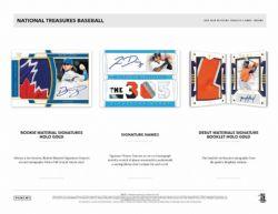 2020 BASEBALL -  NATIONAL TREASURES (P8)