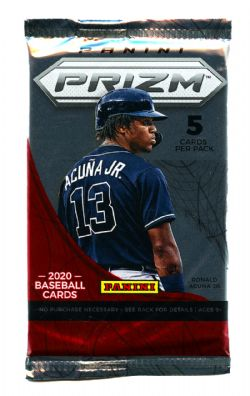 2020 BASEBALL -  PANINI PRIZM BASEBALL - QUICK PITCH (P5/B18)