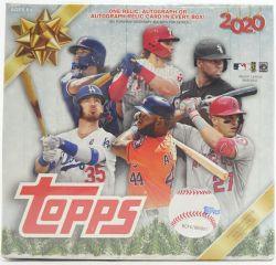 2020 BASEBALL -  TOPPS HOLIDAY - MEGA BOX
