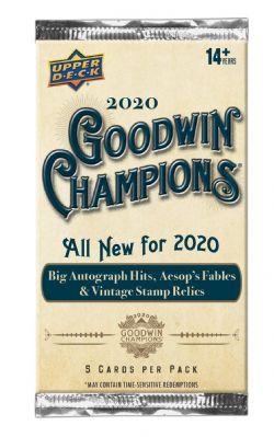 2020 BASEBALL -  UPPER DECK GOODWIN CHAMPIONS (P5/B20/C16)