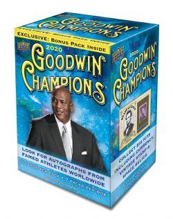2020 CHAMPIONS -  UPPER DECK GOODWIN CHAMPIONS 7-PACK - BLASTER BOX