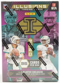 2020 FOOTBALL -  2020 PANINI ILLUSIONS 6-PACK BLASTER BOX