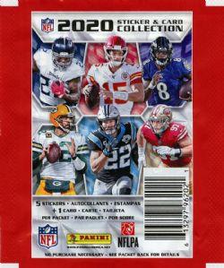 2020 FOOTBALL -  AUTOCOLLANTS PANINI NFL (P5/B50)