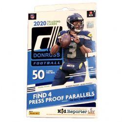 2020 FOOTBALL -  PANINI DONRUSS FOOTBALL HANGER BOX