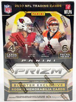 2020 FOOTBALL -  PANINI PRIZM - BLASTER (B6/P4)