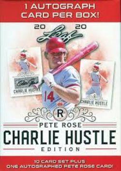2020 -  LEAF - PETE ROSE - CHARLIE HUSTLE EDITION -  BASEBALL