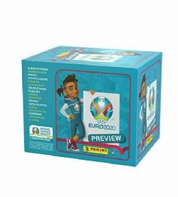 2020 SOCCER -  EURO 2020 PREVIEW STICKER COLLECTION PACKS (60 STICKERS) -  PANINI